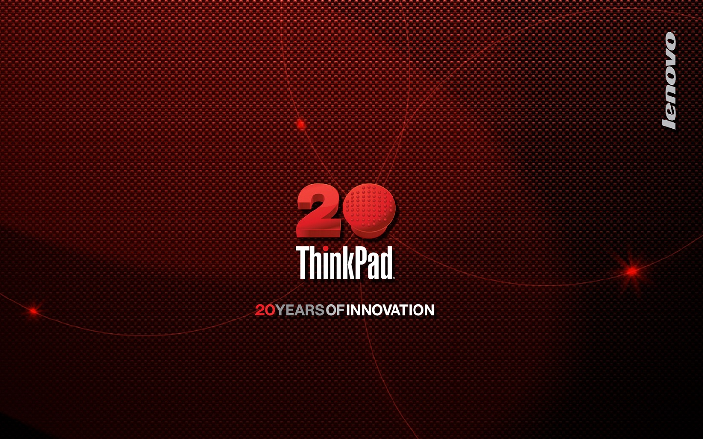 Wallpaper Thinkpad 20 ans