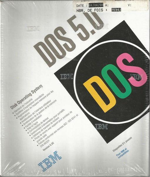 IBM PC DOS 5.02