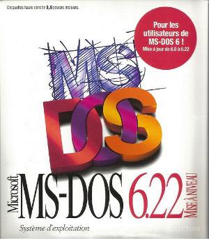 Microsoft MS-DOS 6.22 MAN