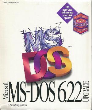 Microsoft MS-DOS 6.22 UG