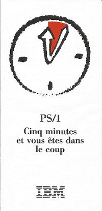 IBM PS/1 Cinq Minutes et vous êtes dans le coup