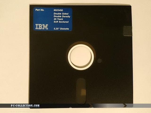 Disquette IBM 5`1/4