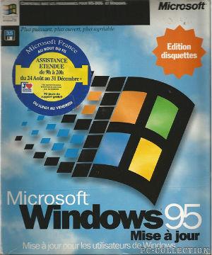 Microsoft Windows 95 MAJ