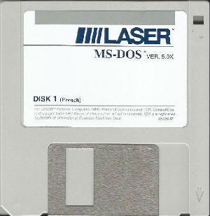 Laser MS-DOS 5.0x