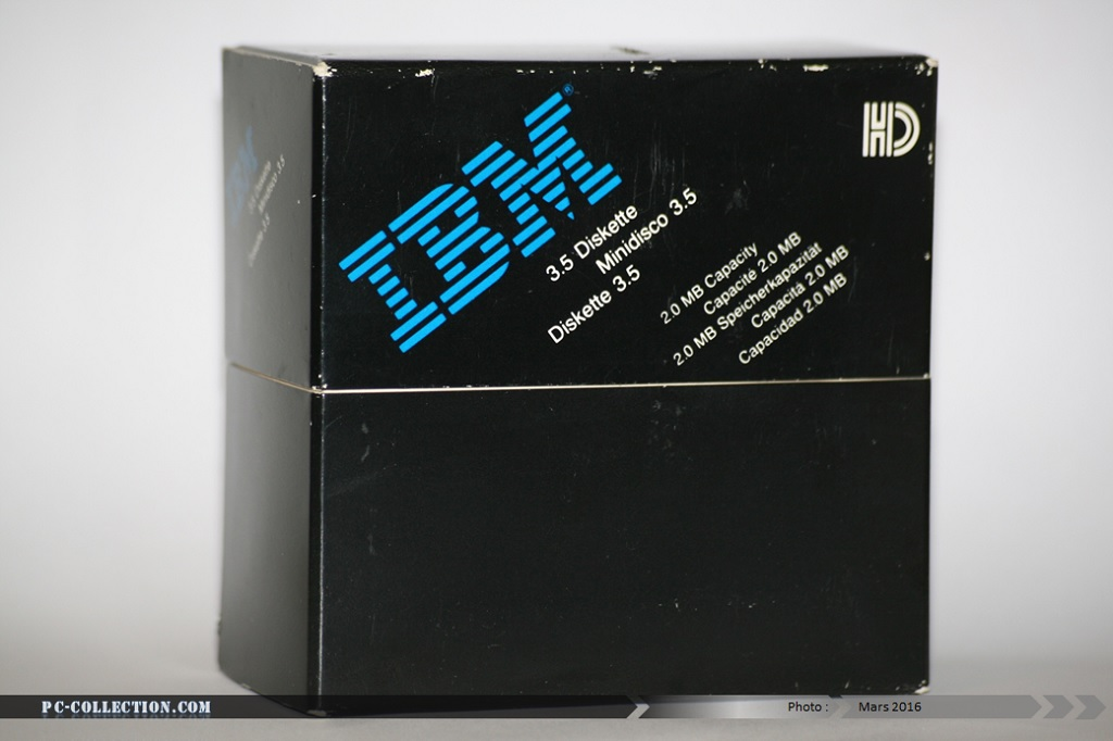 Boite noire 10 disquettes IBM
