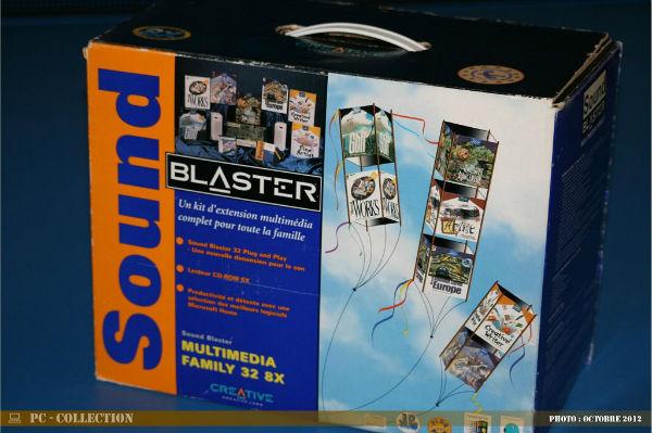 Kit Sound Blasteur Creative 32 8X