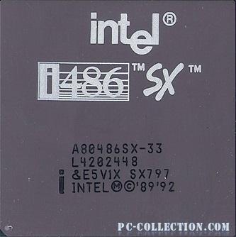 intel 486 SX33 SX797