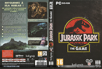 Jaquette Jurassic Park The Game