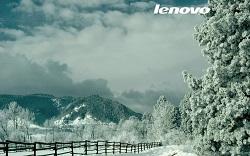 Wallpaper lenovo neige
