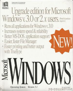 Microsoft Windows 3.1 MAJ