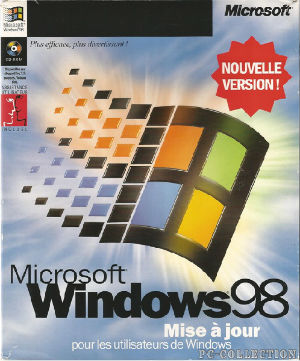 Microsoft Windows 98 MAJ
