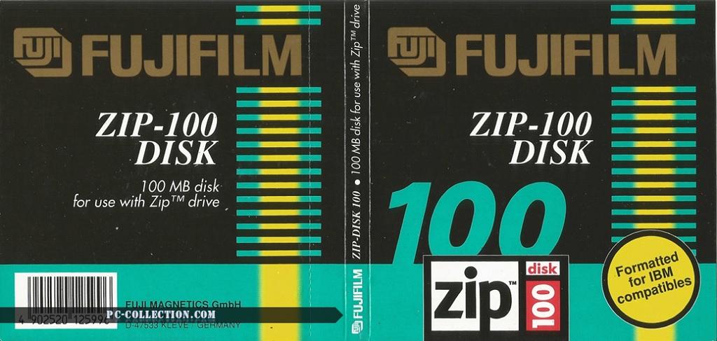 Disquette ZIP 100 FUJIFILM